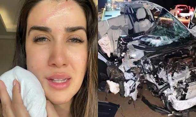 Cantora sobrevive acidente de carro Bíblia ficou intacta