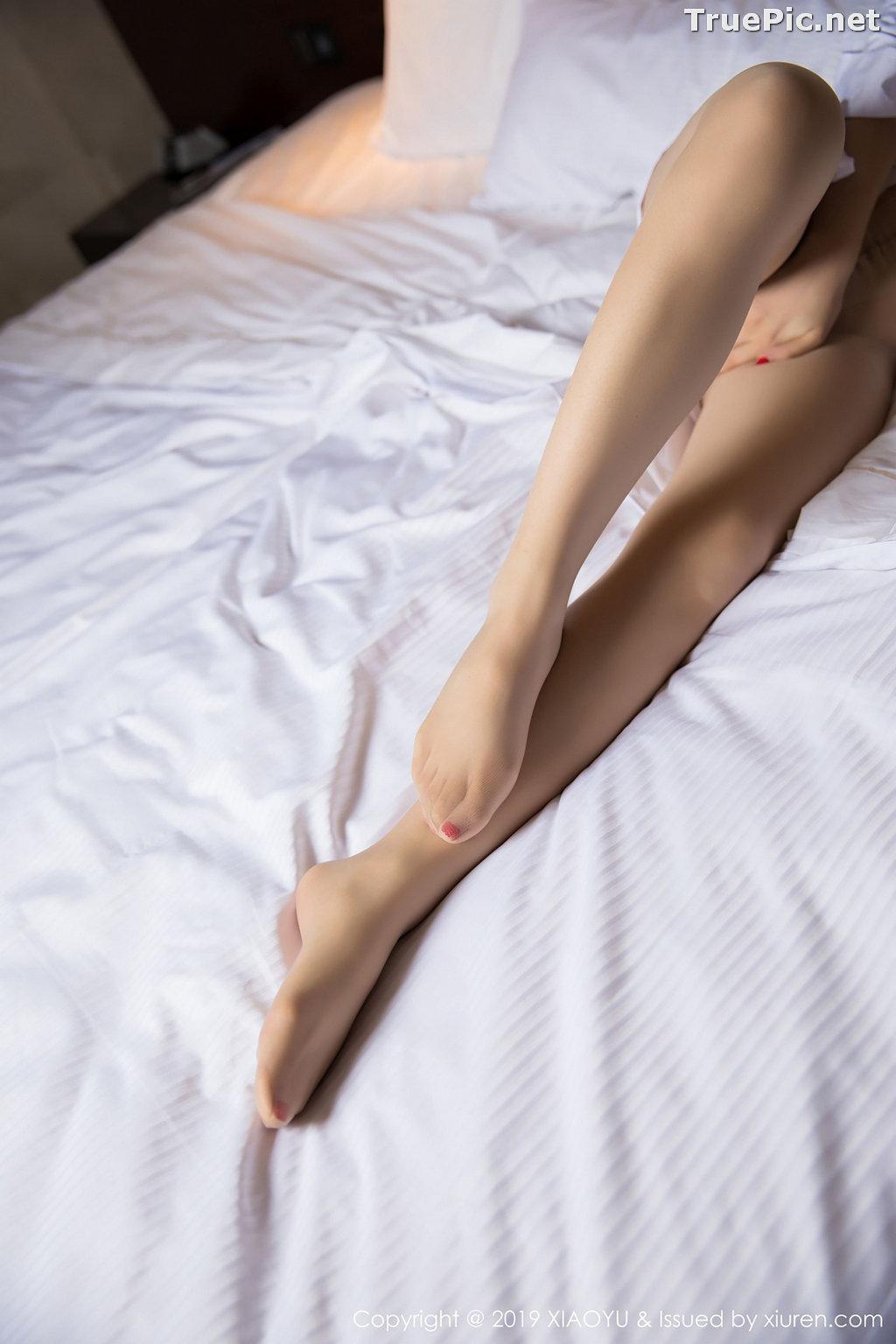 Image XiaoYu No.004 - Chinese Model - Xiao Reba (Angela喜欢猫) - White Sexy Nurse - TruePic.net - Picture-58