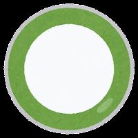 回転寿司の皿のイラスト2