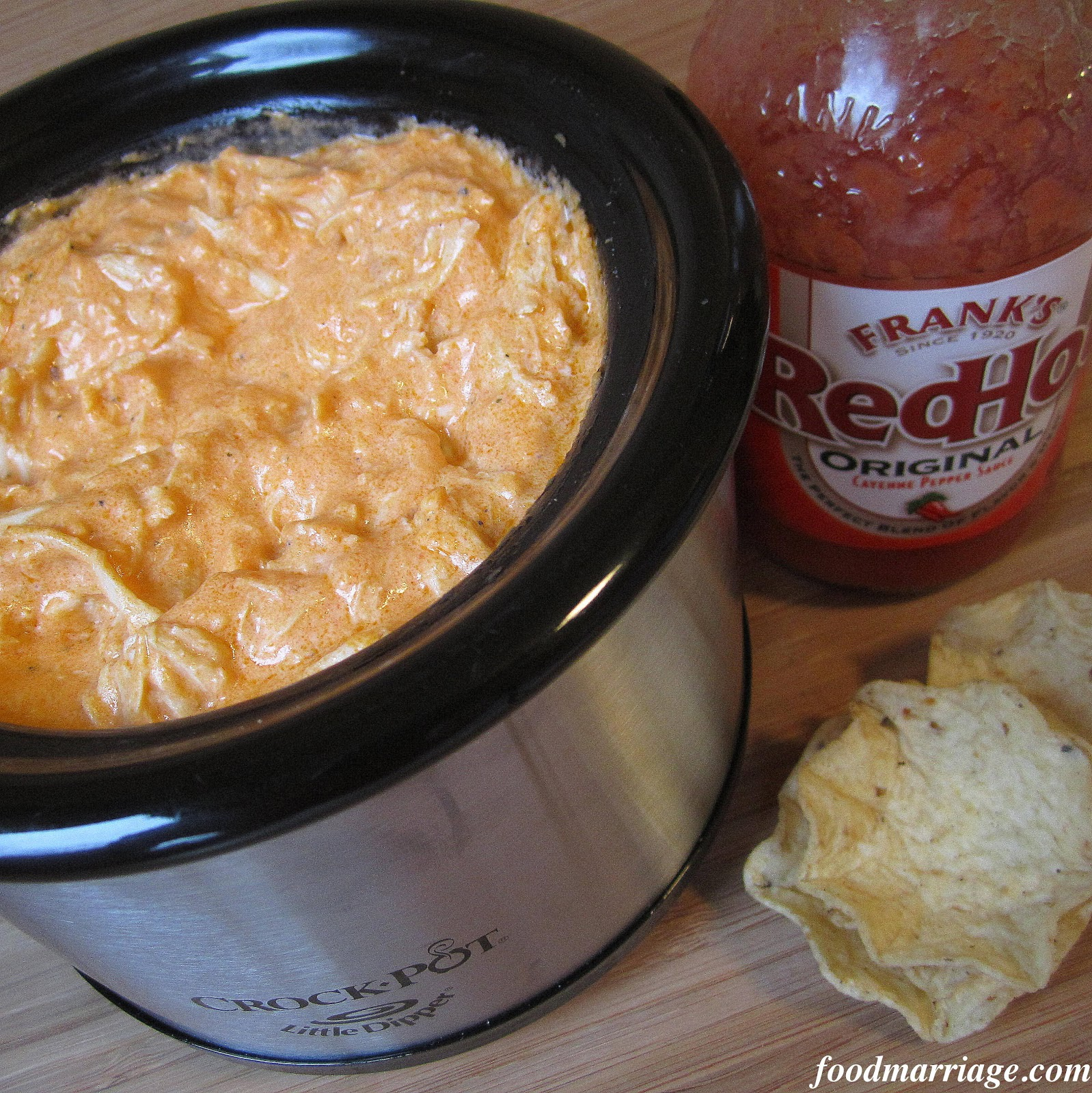 Layered Buffalo Chicken Dip Recipe: Game Day Recipe: Warm Buffalo Chicken Dip