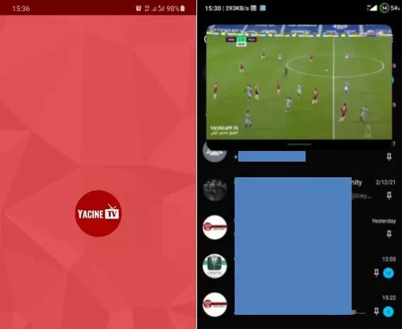 Download Yacine TV APK Terbaru-2
