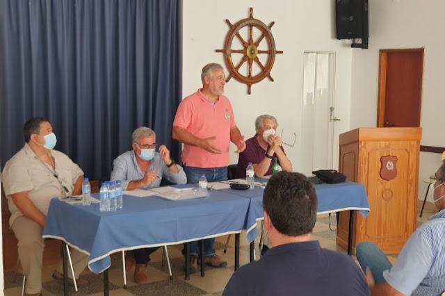 La mesa estuvo presidida por el Contralmirante José da Silva Campos (imagen João Gonçalves)