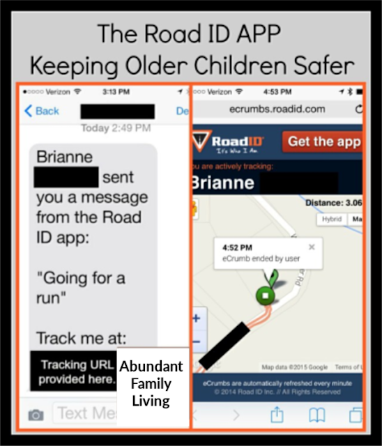 Road ID: Keeping Older Children Safe