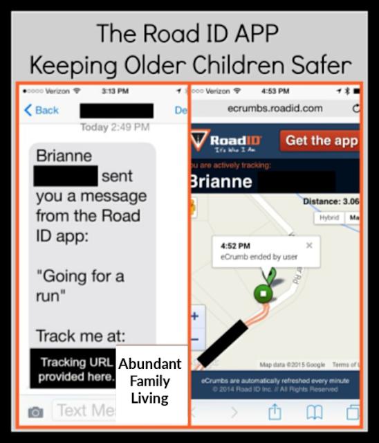 Road ID: Keeping Older Children Safe