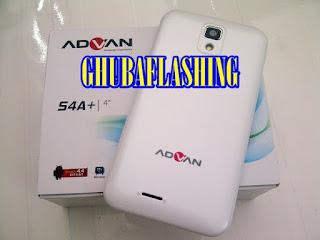 Cara Flash Advan S4A Plus 100% Berhasil Via Research Download