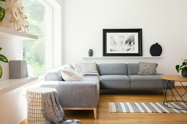 light and stylish scandinavian living room designs