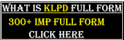 klpd full form