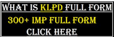 klpd full form
