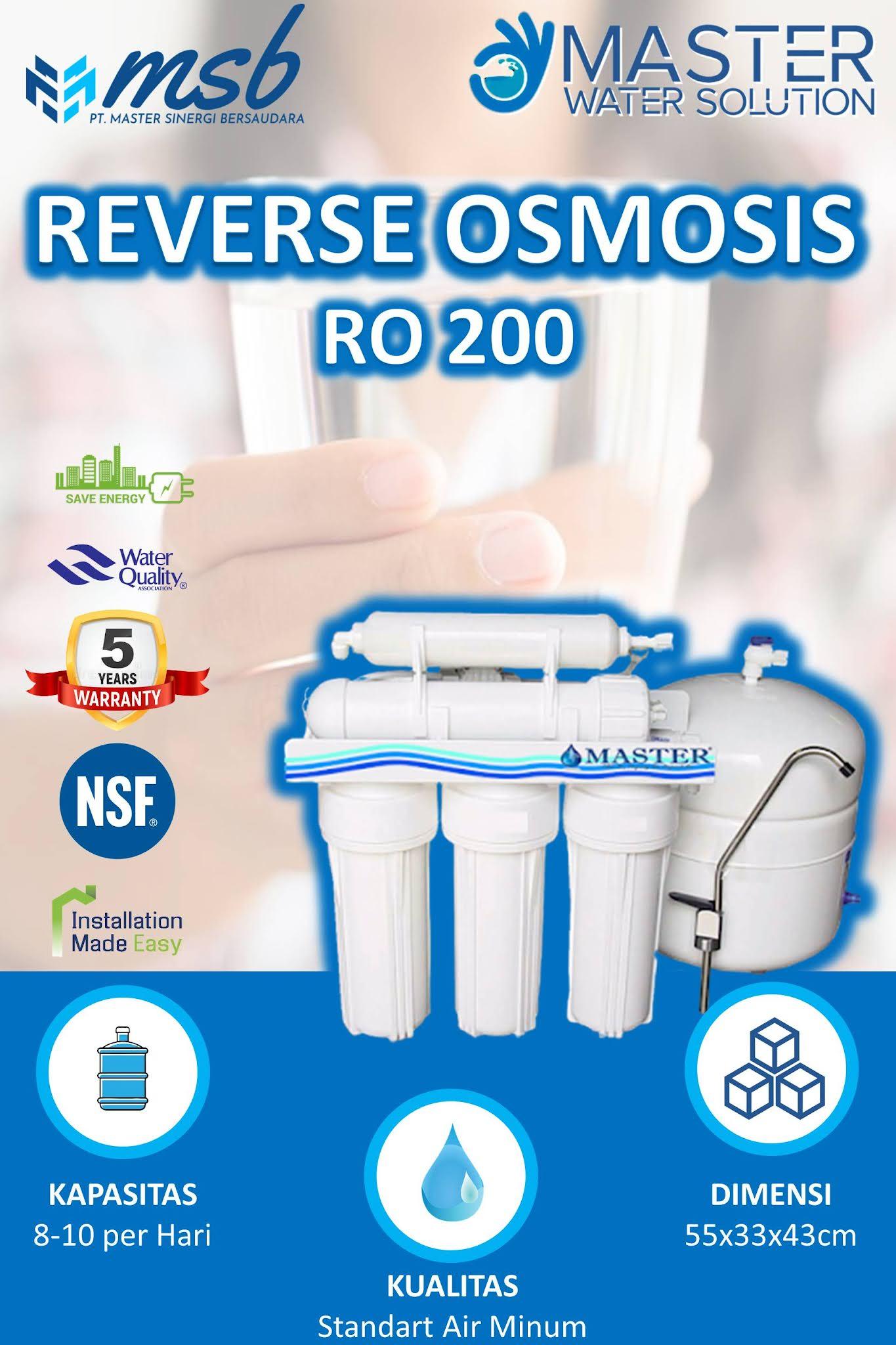 REVERSE OSMOSIS (RO) RUMAH TANGGA