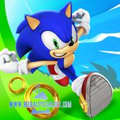 حمل احدث اصدار من لعبة المغامره الرائعه sonic dash لهواتف الاندرويد