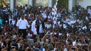 Viral Video Jokowi Hilangkan Angka Dua saat Hitung Mundur, Begini Respons TKN dan BPN