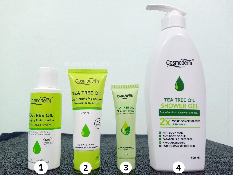 Cara Hilangkan Jerawat Dalam 3 Hari Dengan Cosmoderm Tea Tree Oil