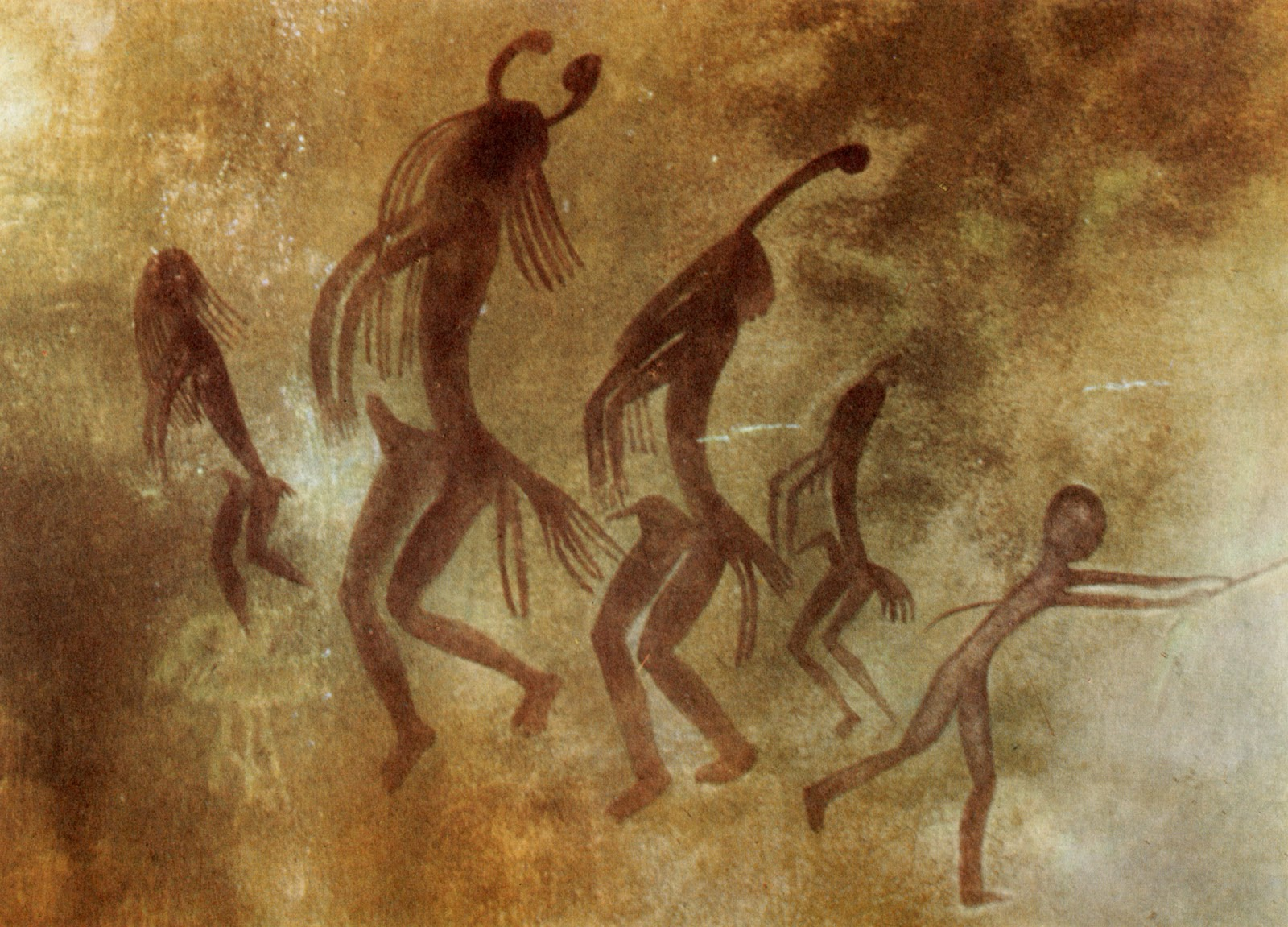 chair dance ritual song antique corner chaudron prehistoric rock paintings of libyan and