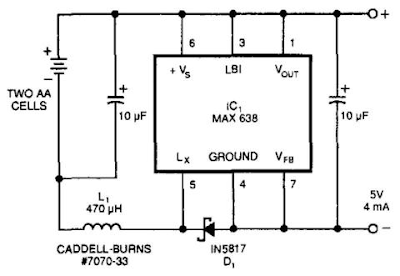 Simple Hot-Lead Regulator Circuit Diagram
