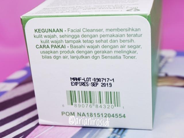 Sensatia Acne Clarifying Facial Cleanser