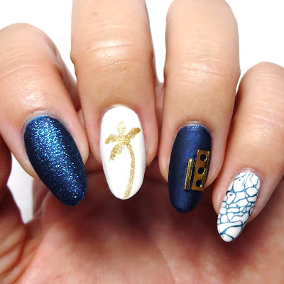 Summer Sophistication Nail Art