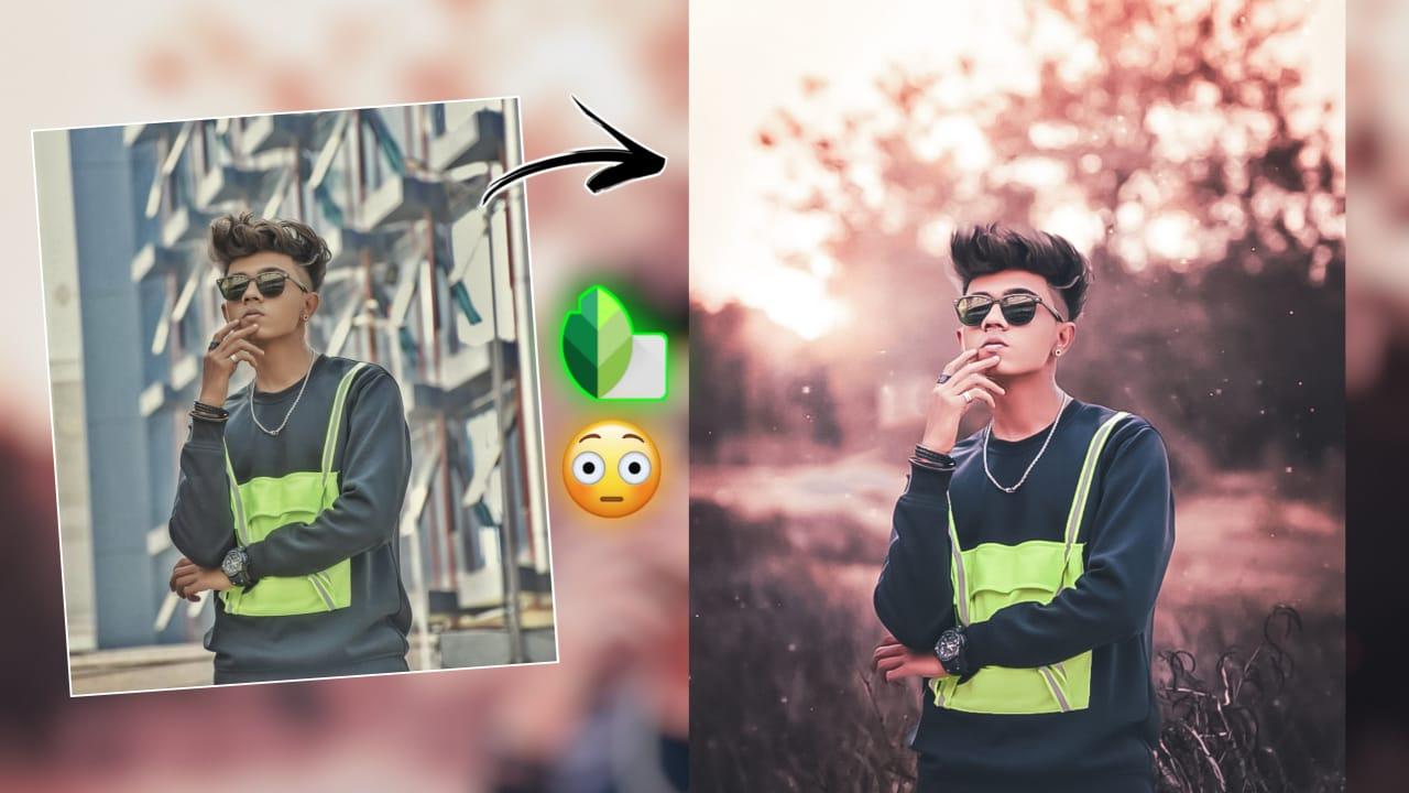Snapseed editing