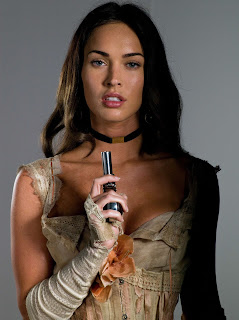 Megan Fox In Action With Pistol 2