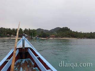 mendekati Pulau Pahawang
