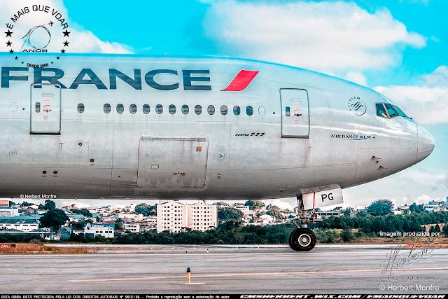 Voos da Air France passam a ter controles de temperatura | Foto © Herbert Monfre - Fotógrafo de avião - Imagem produzida por Herbert Pictures | É MAIS QUE VOAR