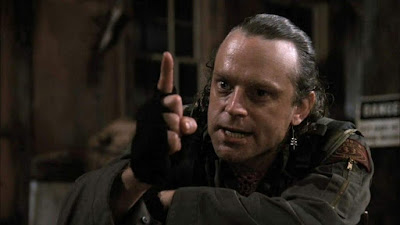 "Brad Dourif as ""The Exterminator"" in Stephen King's GRAVEYARD  SHIFT!"