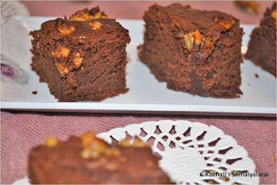 EGG-LESS CHOCOLATE BROWNIE RECIPE-WITH VIDEO AND STEP BY STEP PICTURES