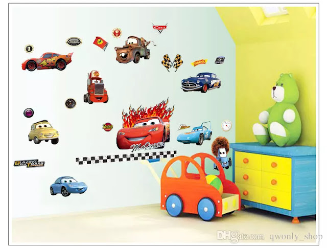 استيكرات سيارات - حوائط غرف اطفال
