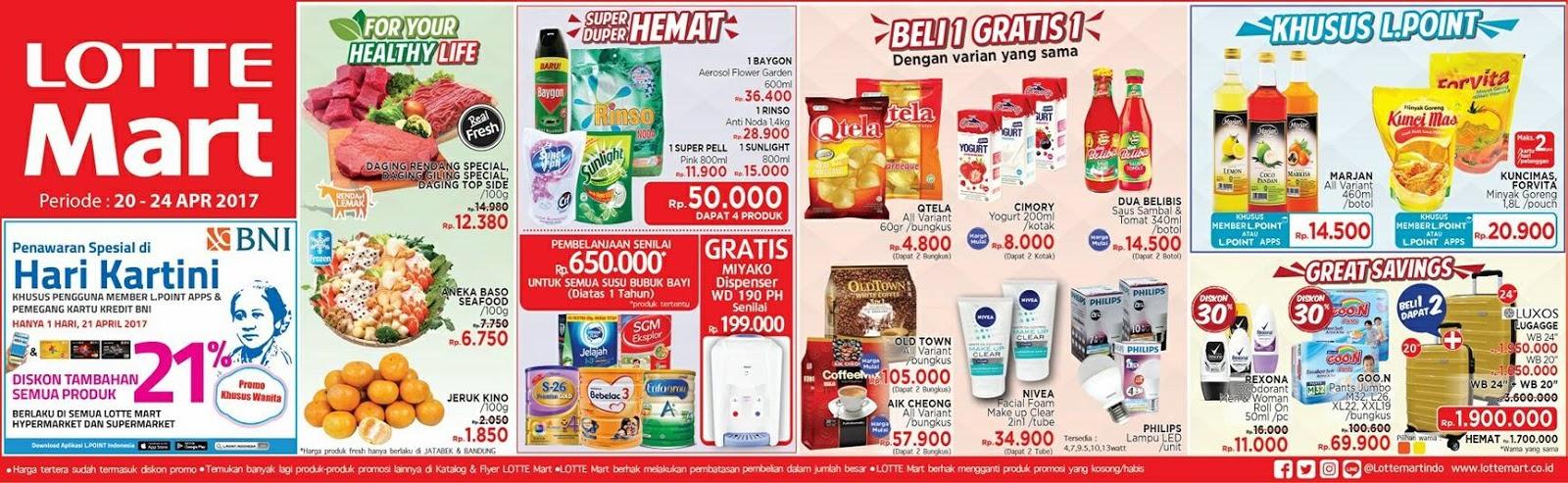 Katalog Promo Lottemart Akhir Pekan 7-9 September 2018