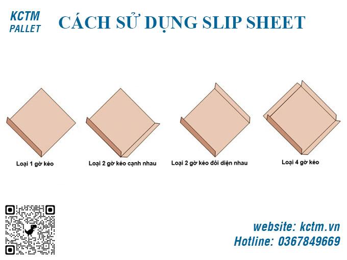 Lựa chọn chủng loại Slip Sheet và kích thước Slip Sheet phù hợp