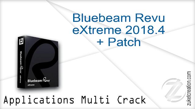 Bluebeam Revu eXtreme 2018.4 + Patch