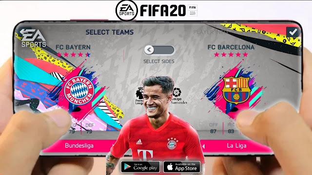 تحميل لعبة فيفا fifa 2020 للاندرويد والكمبيوتر || ألعاب كرة قدم