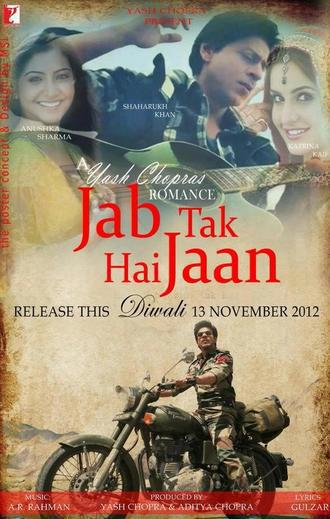 Brand New Exclusive Poster Of Jab Tak Hai Jaan