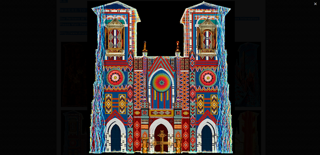 San Fernando Cathedral Saga Art