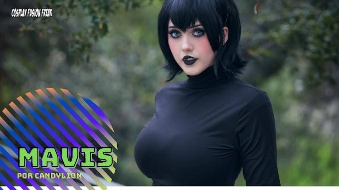 CandyLion con su cosplay de Mavis