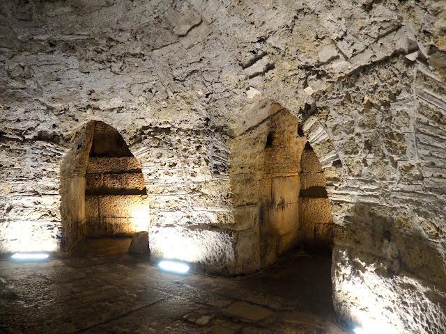 Crypt under Saint Domnius Cathedral, Diocletian's Palace, Split, Croatia
