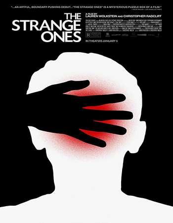 poster of movie The Strange Ones 2017 English 250MB Web-DL 480p