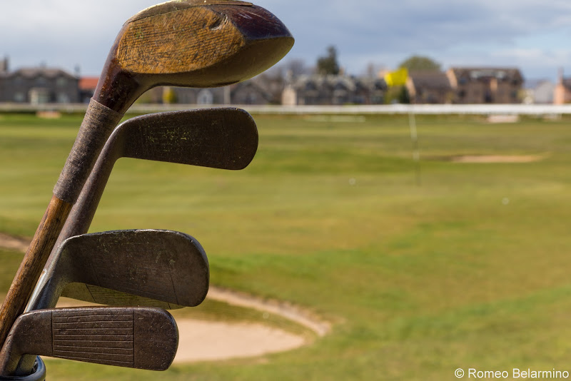Hickory Clubs at Musselburgh Links Top Scottish Golf Courses