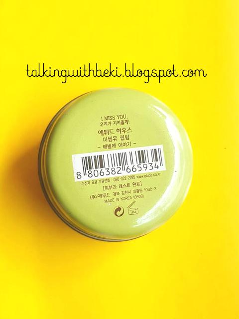 Etude House Lip Tint Balm
