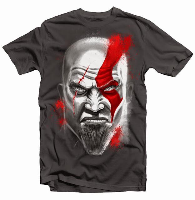 kratos tshirt design