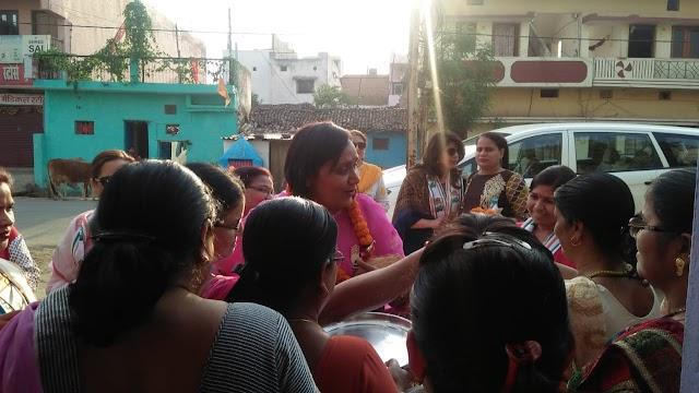 बिलासपुर लोकसभा: कांग्रेस प्रत्याशी अटल के पक्ष में पत्नी नीतू व बहू रश्मि ने संभाला मोर्चा, क्षेत्र में लगातार कर रहे जनसम्पर्क..