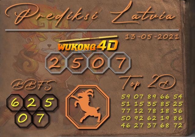 PREDIKSI TOGEL LATVIA WUKONG4D 13 MEI 2021