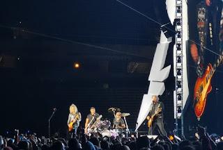 Metallica en Barcelona, 5 de Mayo de 2019.