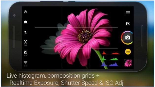 Aplikasi kamera terbaik - Camera Zoom FX