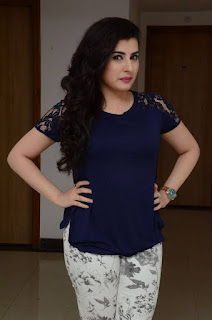 Archana Veda looks so cute in a super tight white printed leggings and a lovely Top at Nannu Vadili Neevu Polevule Audio Launch