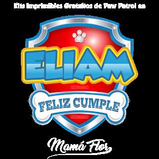 Logo de Paw Patrol: Eliam