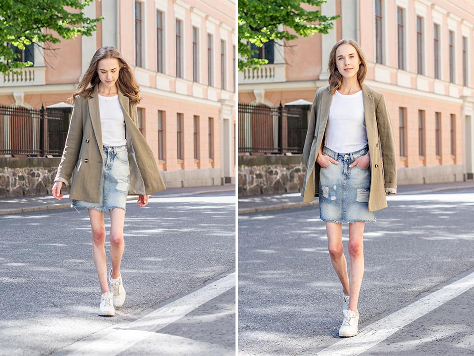 Fashion blogger outfit inspiration, summer 2020 - Kesämuoti, muotibloggaaja, inspiraatio