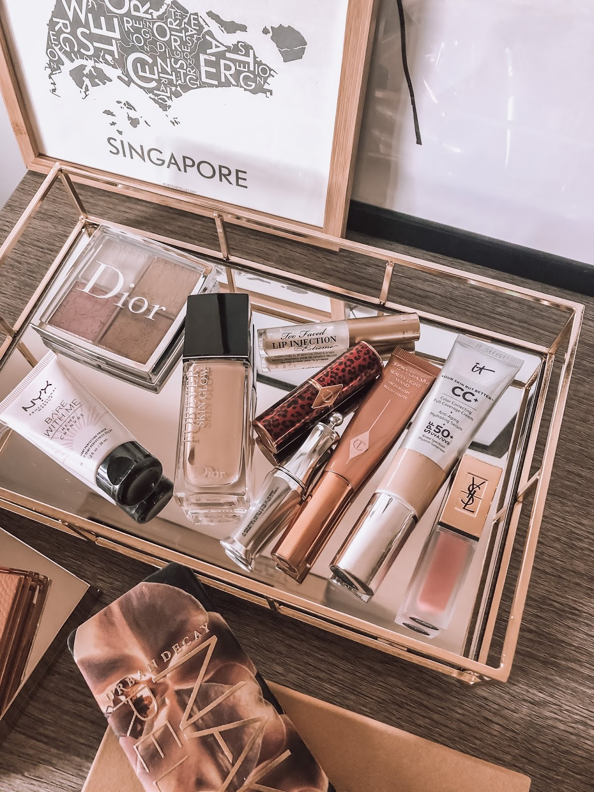 2019 beauty favorites, charlotte tilbury, dior, it cosmetics, abh, becca, huda,nyx
