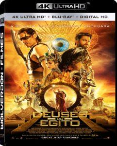 Deuses do Egito BluRay Ultra 4K 2160p 5.1 Dual Áudio