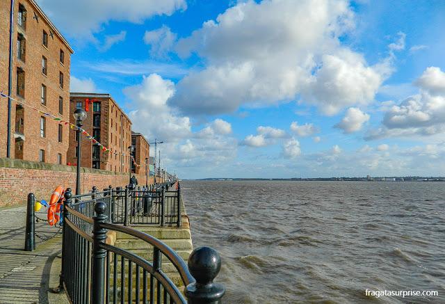 Rio Mersey, Liverpool, Inglaterra