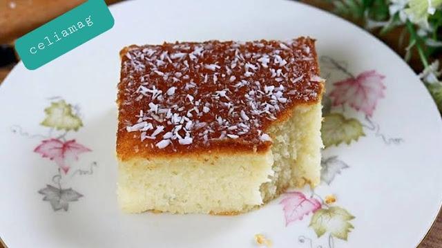 الكيكة اليومية  بذون خلاط ناجحة  و بيضاء جربيها لن تستغني عنها